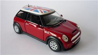 New Boys Toy Diecast Yellow BMW Mini Cooper s Car Model Stocking