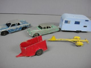 Tootsietoy Packard House Horse Boat Trailers Hubley Car Group 5