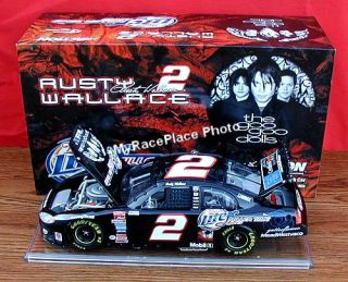 2003 ACTION  Rusty Wallace Miller Lite Beer Dodge 1/24 NASCAR Sprint