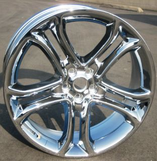 OF 4 NEW 22 FACTORY FORD EDGE OEM CHROME WHEELS RIMS 2011 2013 3850