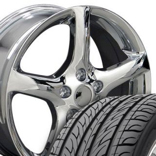 17 05 Chrome Altima Wheels Tires Rims Fit Nissan Maxima 300zx 350Z
