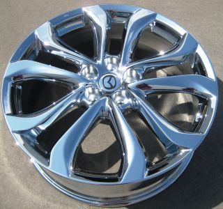 FACTORY MAZDA CX 9 CX9 OEM CHROME WHEELS RIMS 2011 EXCHANGE YOUR STOCK