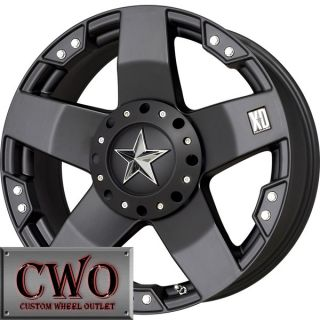 18 Black XD Series Rockstar Wheels Rims 8x170 8 Lug Ford F 250 F 350