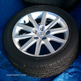 Lexus gs350 GS300 Factory 17 Wheels Goodyear Eagle F1 as Tires Camry