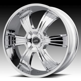 22 inch AR894 Chrome Wheels Rims 6x135 Ford F150 Expedition Navigator