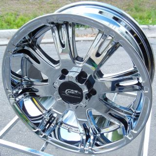 18 Chrome Dale Jr Ribelle Wheels Rims Chevy Silverado Tahoe GMC Yukon