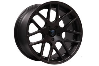 E320 E350 E500 E550 E55 Rohana RC26 Concave Black Wheels Rims