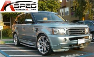 22 Silver Wheels Tires Packages Fit Land Range Rover LR3 Sport HSE