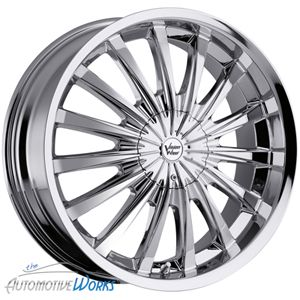 22x8 5 Vision Chrome Wheels Rims inch Monte Carlo 22