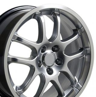Black G35 Style 10 Spoke INFINITI18X9 Wheels Rims Fit Nissan