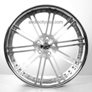 24 inch Custom Forged 3pc Wheels Rims for BMW Camaro Range Rover