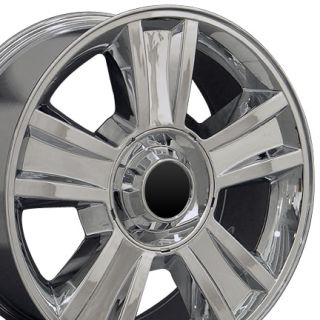 20 Fits GMC Tahoe Chrome Wheels Set of 4 Rims