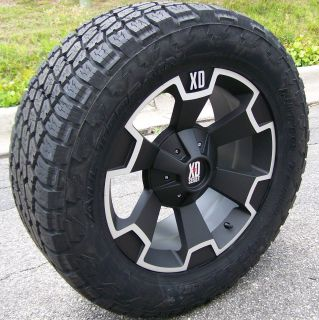 22 XD Thump Wheels Nitto Terra Grappler Toyota Tundra