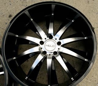 22 Black Rims Wheels Nissan 350Z Staggered 22 x 8 5 10 5H 40