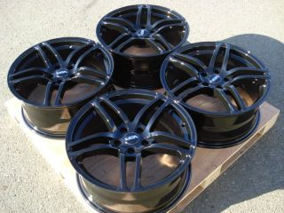 18 VSR Black Wheels Rims 5x114 3 Accord Infiniti G35 Eclipse Altima