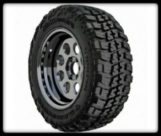 15 Fuel Revolver Black Rims Federal LT31X10 50x15 Couragia M T Tires