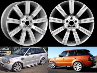 20 Stormer Rims Wheels Set Range Land Rover HSE LR3 Set of 4 Rims