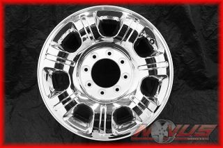 FORD F250 F350 SUDERDUTY FX4 KING RANCH CHROME CLAD OEM WHEELS 18 17