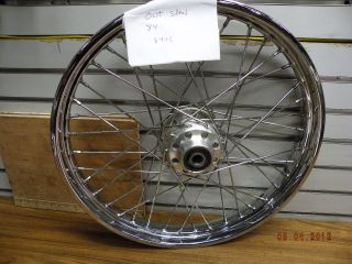Front Wheel Harley Softail Dyna Wide Glide 21 00 3 4 40 Spoke Factory