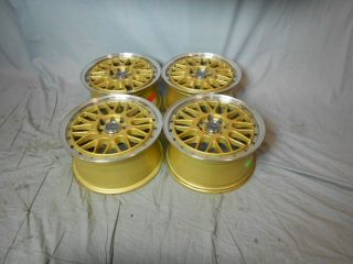 4x100 4x114 3 4 100 4 114 3 Dr 44 Gold Machined Lip Wheels Rims