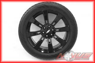 NEW *22 BLACK CHEVY TAHOE SILVERADO HYBRID CADILLAC ESCALADE WHEELS