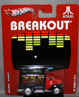 Hot Wheels Nostalgia Atari Series Breakout 49 Ford C O E