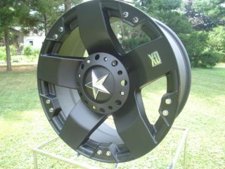 Black XD Rockstar 18 x 9 8 Lug Ford Chevy Dodge Wheels