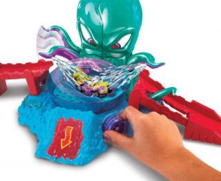 New Hot Wheels Color Shifters Octobattle Playset