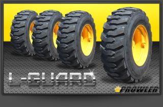Guard Skid Steer Tire Wheel Combo John Deere Cat Yellow Wheels