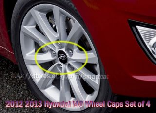 2013 Hyundai i40 Saloon Sedan Wagon Tourer OEM Wheel Hub Caps Set OF 4