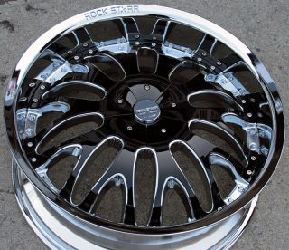 RVM 525 20 Chrome Rims Wheels Chrysler 300 300C AWD