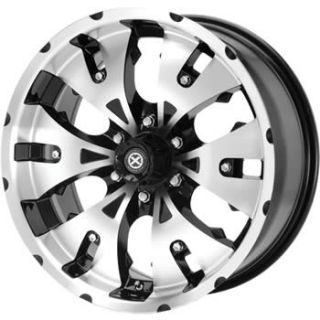 20x8 5 Diamond Cut Wheels Rims Mace 6x135