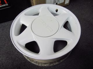 16 Factory White Alloy Wheel Rim Fits 89 90 91 92 Nice Used