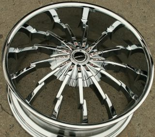 Strada Stiletto 22 Chrome Rims Wheels Camaro Firebird Trans Am 22 x 8