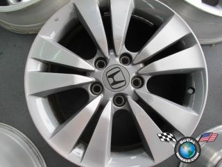 One 08 11 Honda Accord Factory 17 Wheel Rim 63938 42700TEOA91