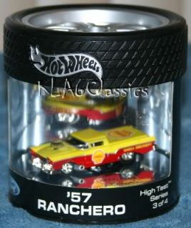 Hot Wheels Ford 57 Ranchero 1 64 Shell Oil Can RARE