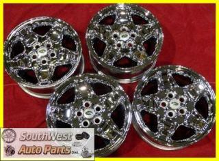 96 97 98 99 00 01 02 Range Land Rover Discovery 18 Chrome Wheels Used