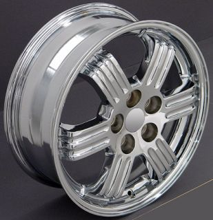 17 Rims Fit Mitsubishi Chrome Eclipse Wheels 17 x 6 5