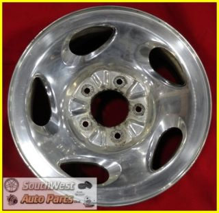 97 98 99 00 Ford F150 16 5x135mm Polished Wheel Used Factory Rim 3194
