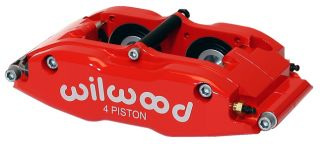 Wilwood Disc Brake Kit 65 82 Corvette C2 C3 13 Rotors Red Calipers
