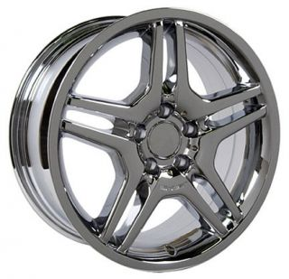 18 Chrome AMG Wheel Rim Fits Mercedes C E s Class SLK CLK CLS 35mm