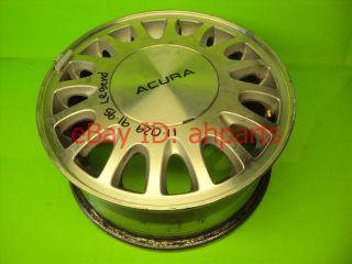 91 92 93 94 95 Acura Legend Aluminum Wheel Rim Disc