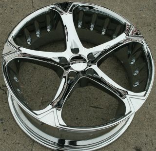 Giovanna Dalar 5V 20 Chrome Rims Wheels Camry Highlander 20 x 8 5 5H