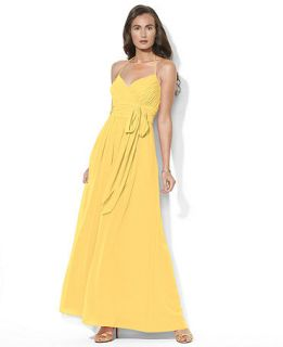 Lauren by Ralph Lauren Dress, Sleeveless Halter Gown   Womens Dresses