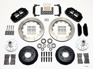Wilwood Disc Brake Kit 70 73 Ford Mercury 13 12 Rotors Black