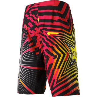 Fox Racing Rockstar Spike Vortex Red Boardshort Swim Trunks Board