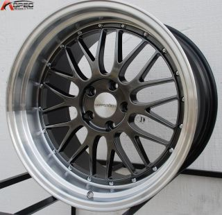 20x10 20x11 5x114 3 15 Hyper Black Wheels Fit Infiniti G35 G37