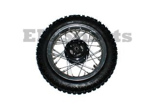 Dirt Pit Bike Wheel Rim Tire Combo 3 00 12 Parts 125cc