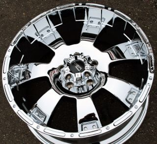 Incubus Krawler 815 20 Chrome Rims Wheels Chevrolet Tahoe Silverado