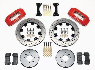 Wilwood Disc Brake Kit Front Honda 10735 12 Drilled Rotors 6 Piston